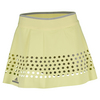 ADIDAS Women`s Stella McCartney Roland Garros Tennis Skort Fresh Yellow