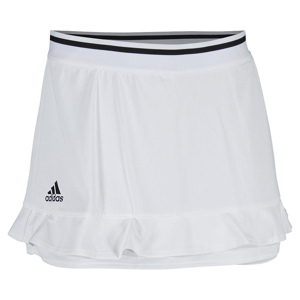 Women's Climachill 12 Inch Tennis Skort White