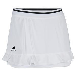 Women`s Climachill 12 Inch Tennis Skort White