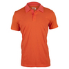 ADIDAS Men`s Aeroknit Climacool Tennis Polo Melange EQT Orange