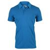 ADIDAS Men`s Aeroknit Climacool Tennis Polo Melange EQT Blue