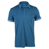 ADIDAS Men`s Climachill Tennis Polo Shock Blue