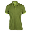 ADIDAS Men`s Climachill Tennis Polo Semi Solar Slime