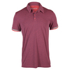 Men`s Climachill Tennis Polo Shock Red by ADIDAS