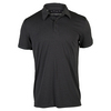 ADIDAS Men`s Climachill Tennis Polo Black Melange