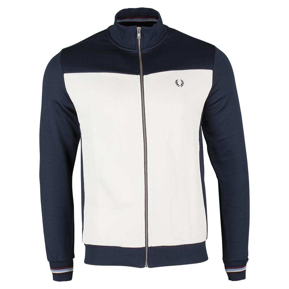Men's Contrast Panel Track Jacket