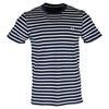 Men`s Breton Stripe Tennis Tee 266_CARBON_BLUE