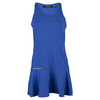 POLO RALPH LAUREN Women`s Sidemesh Tennis Dress Diplomat Blue