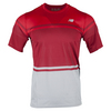 NEW BALANCE Men`s Tournament Tennis Crew Chrome Red
