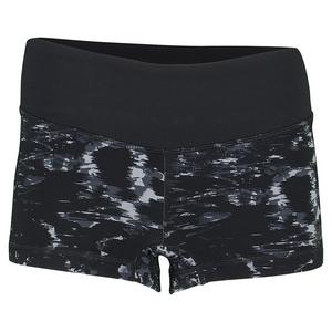 Women`s Premium Performance Tennis Hot Short Black and Gray