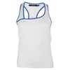 POLO RALPH LAUREN Women`s Crossover Tennis Tank Pure White