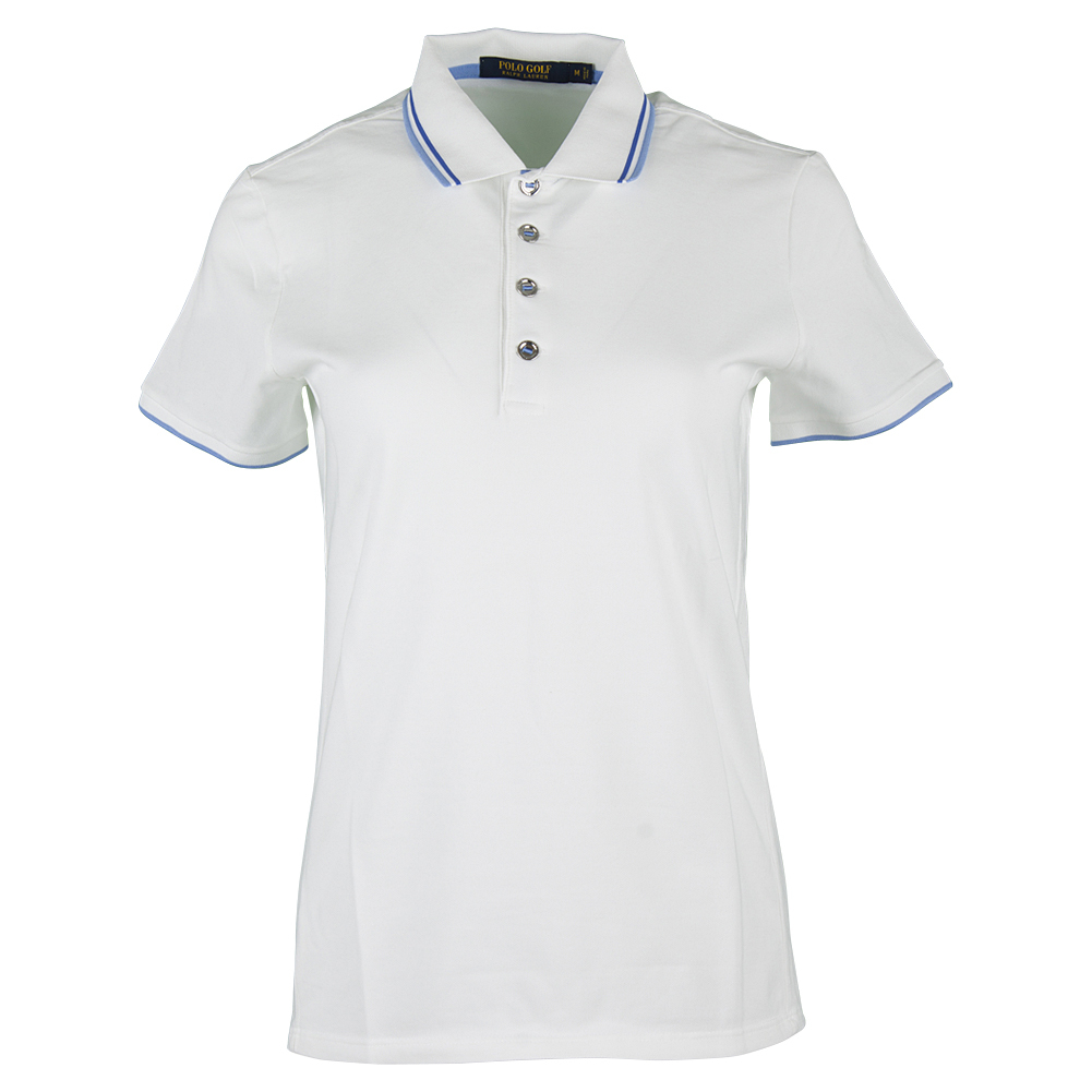 Women's Performance Pique Polo Pure White