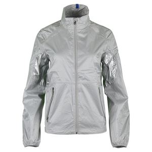 POLO RALPH LAUREN WOMENS FLEXION JACKET METALLIC SILVER
