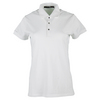 POLO RALPH LAUREN Women`s Short Sleeve Tournament Polo Pure White