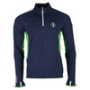 POLO RALPH LAUREN Men`s Long Sleeve Half Zip Tennis Top French Navy