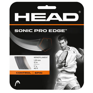 Sonic Pro Edge 17G Tennis String Anthracite
