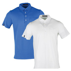 Men`s Short Sleeve Tech Pique Polo