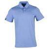 Men`s Short Sleeve Solid Airflow Jersey 005_BLUE_RAIN