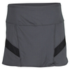 LUCKY IN LOVE Women`s Running Skort Charcoal