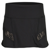 LUCKY IN LOVE Women`s Lace Running Skort Black