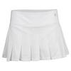 ELEVEN Women`s Flutter 13 Inch Tennis Skort White