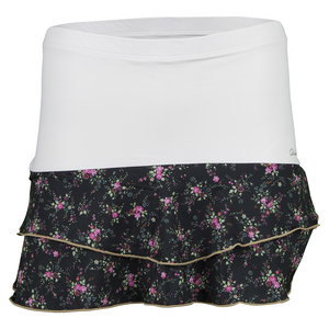 Women`s Villia Tennis Skort White