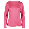 TAIL Women`s Mariah Long Sleeve Tennis Top Electric Rose