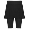 SOFIBELLA Women`s Red Lotus Jan Bermuda Tennis Skort Black