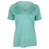 Women`s Club V-Neck Tennis Top 8136_POOL_BLUE
