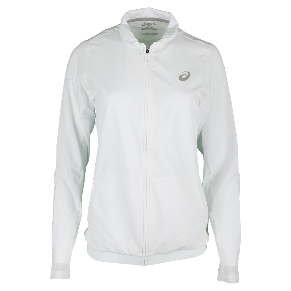 Women`s Club Tennis Jacket Real White