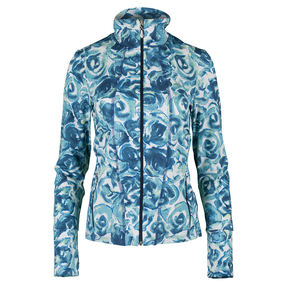 Women's Love Tennis Jacket Camila Rose Print