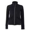 SOFIBELLA Women`s Red Lotus Tennis Jacket Black