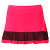 SOFIBELLA Women`s 13 Inch Tennis Skort Red Lotus