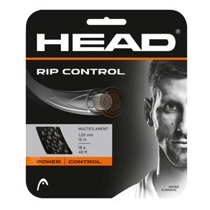 RIP Control 18G Tennis String Black