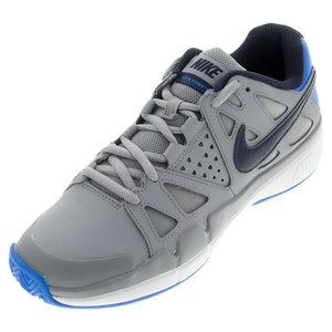 Men`s Air Vapor Advantage Clay Tennis Shoes Stealth and Photo Blue