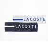 Men`s Striped Tennis Sweatband by LACOSTE