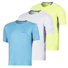 BABOLAT Men`s Perf Crew Neck Tennis Tee