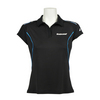 Women`s Match Core Tennis Polo 105_BLACK