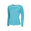 Women`s Core Long Sleeve Tennis Top 224_PETROL_BLUE