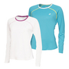 BABOLAT Women`s Core Long Sleeve Tennis Top