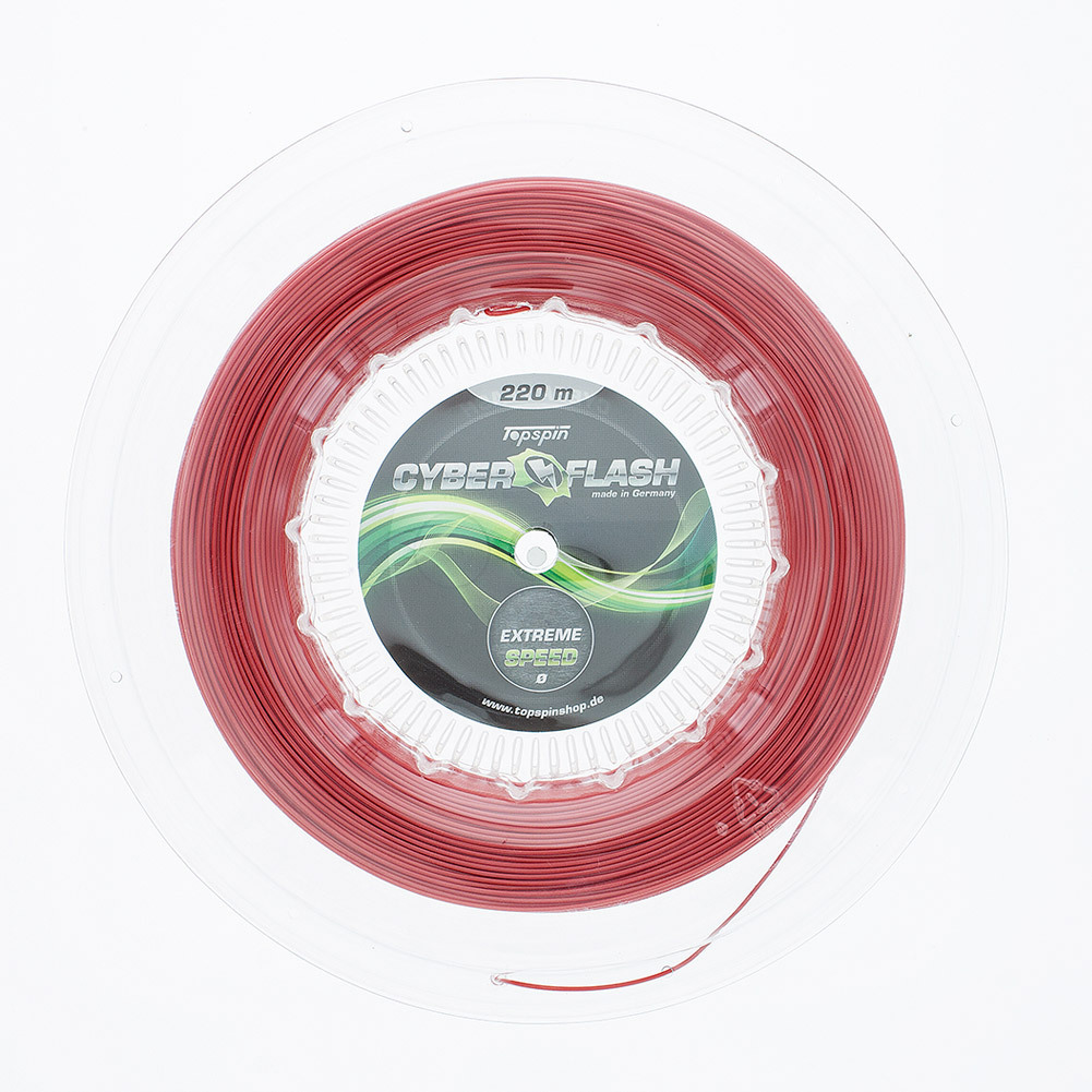 Cyber Flash String 17g 1.25mm Reel Red