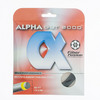 ALPHA Gut 2000 17G Tennis String Black