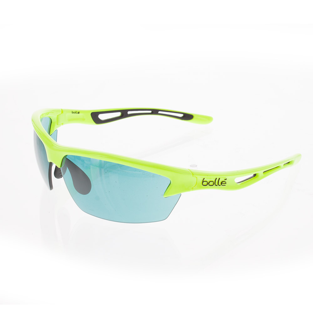 Bolt Shiny Neon Yellow Competivision Sunglasses