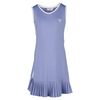 LITTLE MISS TENNIS Girls` Pleated Tennis Dress Lavender and White