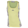 ADIDAS Women`s Stella McCartney Roland Garros Tennis Tank Fresh Yellow