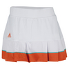 Women`s All Premium 12 Inch Tennis Skort White by ADIDAS
