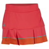 ADIDAS Women`s All Premium 12 Inch Tennis Skort Shock Red