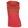 Women`s All Premium Tennis Tank Shock Red by ADIDAS