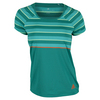 ADIDAS Women`s All Premium Tennis Tee EQT Green