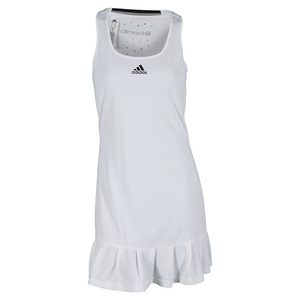 Women`s Climachill Tennis Dress White
